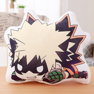 My Hero Academia and Demon Slayer Plushies