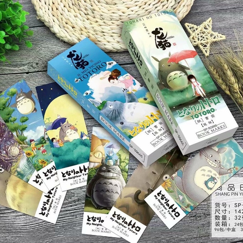 Studio Ghibli Bookmarks
