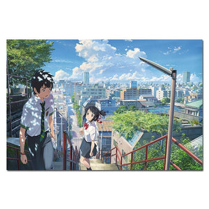 Your Name Silk Posters 50x75 cm