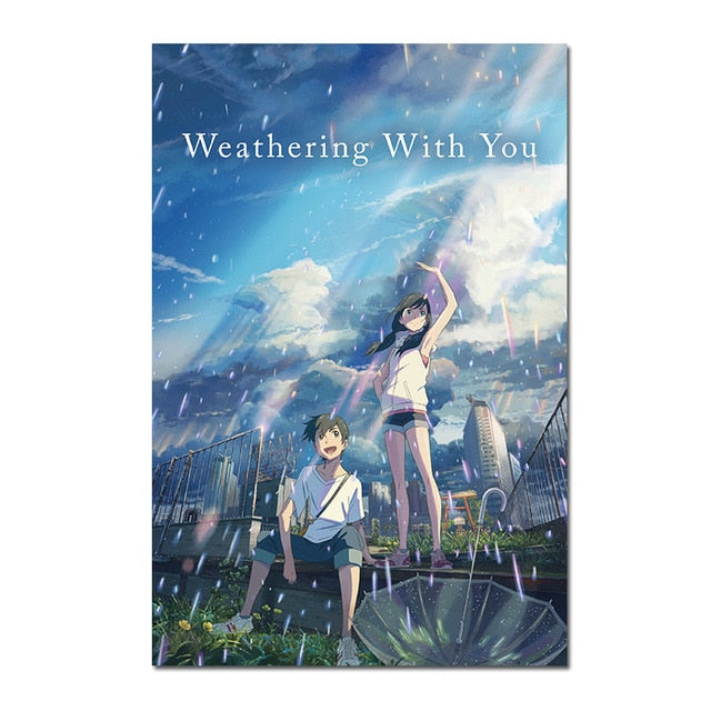 Weathering With You Silk Posters 50x75 cm