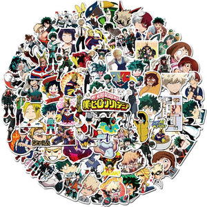100pcs My Hero Academia Stickers