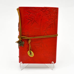Bamboo Journal - Red