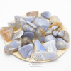 Blue Chalcedony tumbled