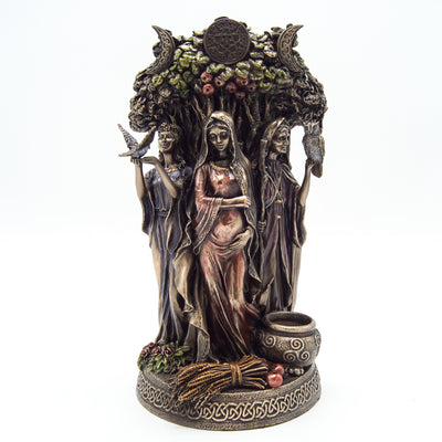 Celtic Triple Goddess Maiden Mother and the Crone