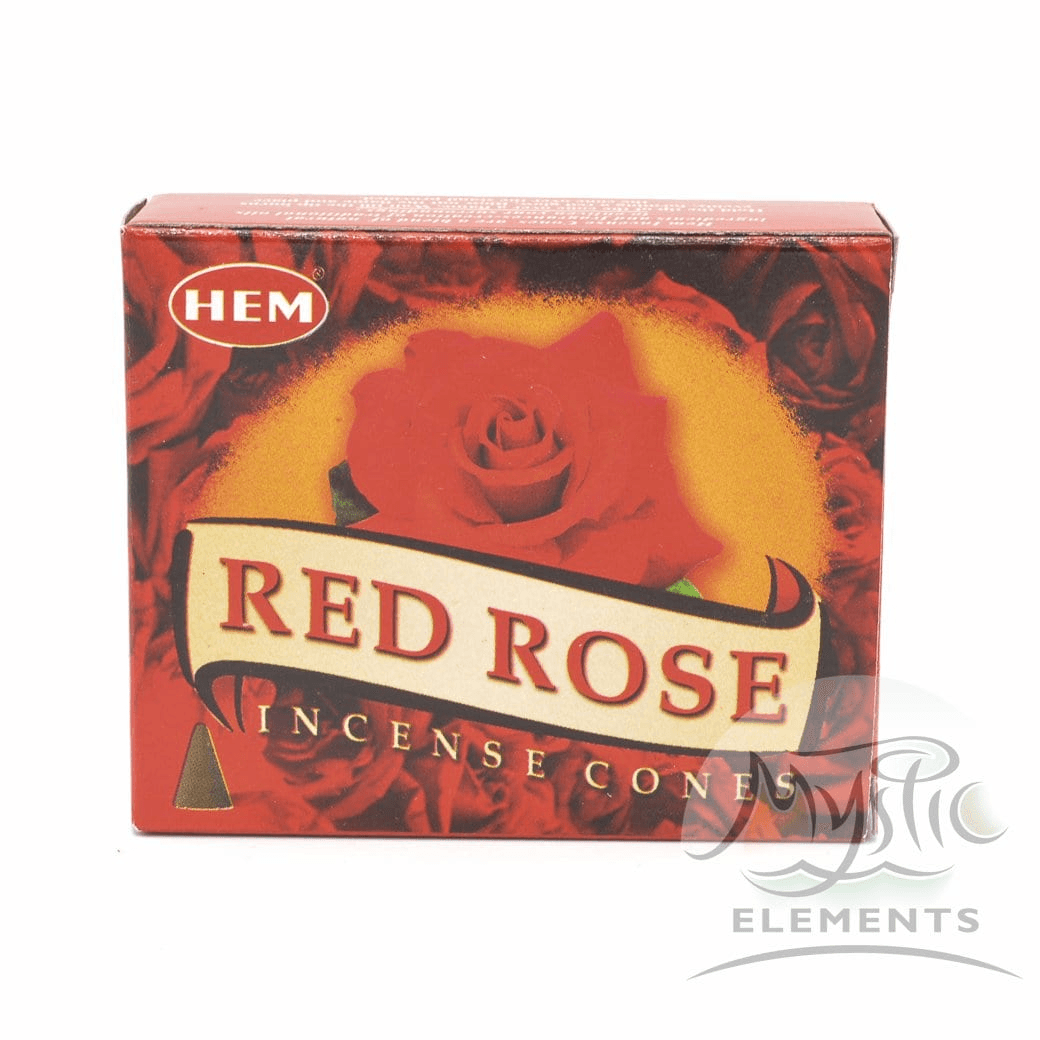 Red Rose Incense Cone