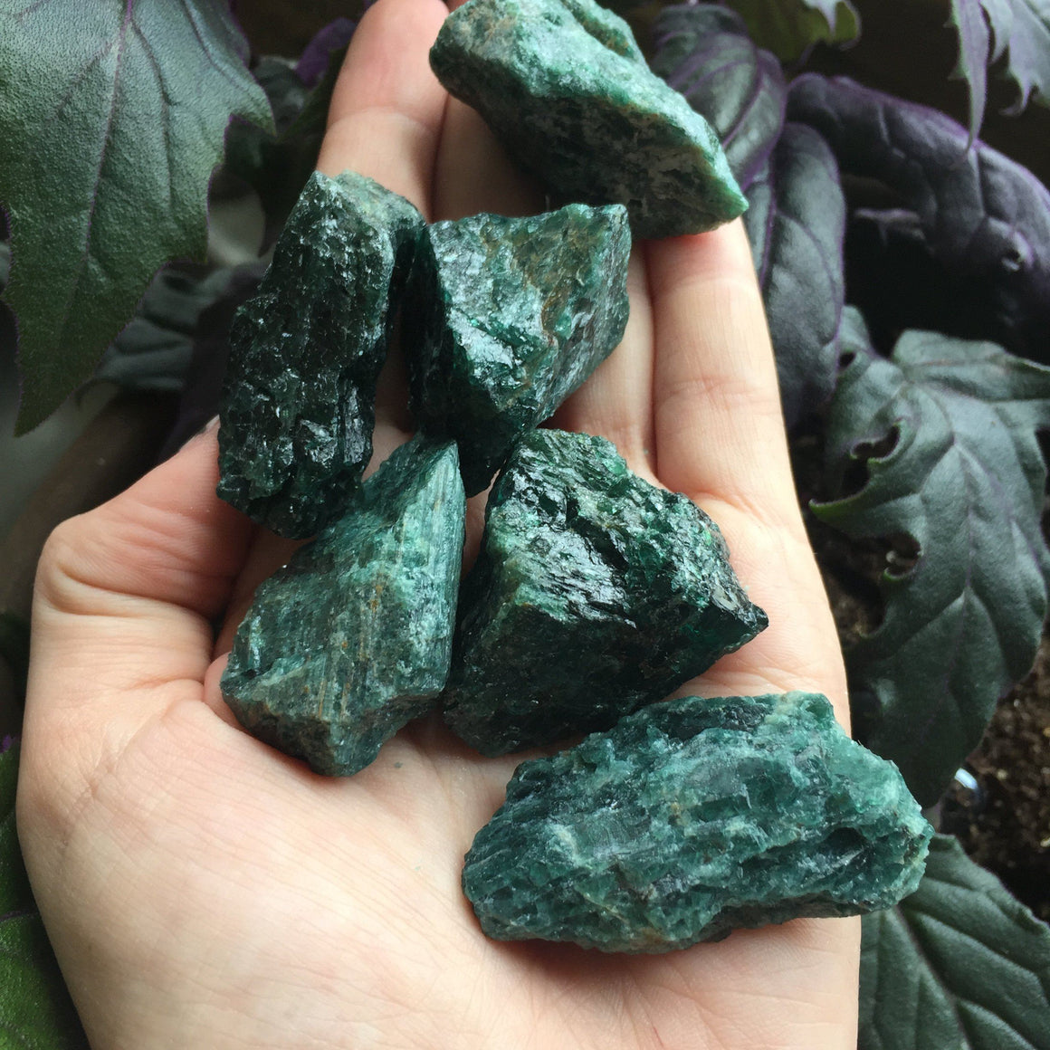 Green Apatite Rough