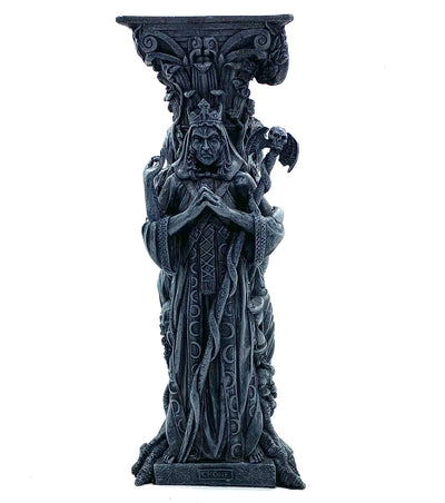 Maiden Mother Crone Candle Holder (black)