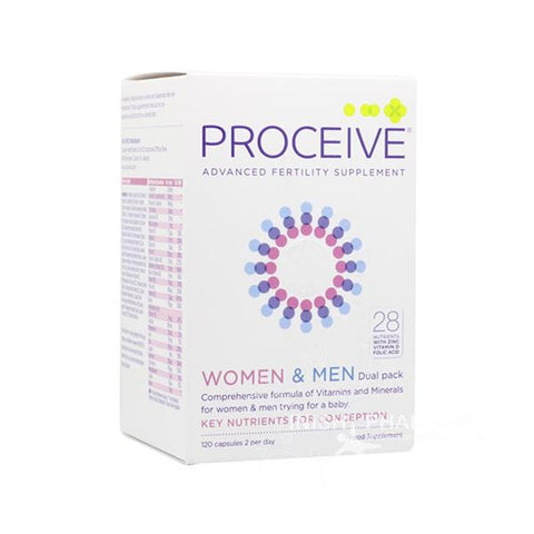 Proceive Advanced Fertility Support Women & Men - dolanschemist.ie