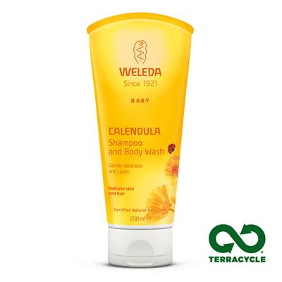 Weleda Calendula Shampoo and Body Wash Baby 200ml