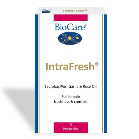BioCare IntraFresh 6 Pessaries - dolanschemist.ie