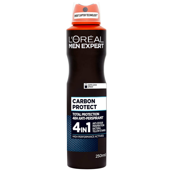 L'oreal Men Expert Carbon Protect 4 in 1 48hr Anti-Perspirant