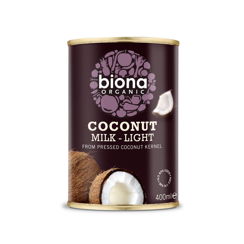 Biona Organic Coconut Milk - Light