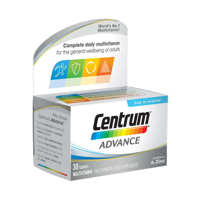 Centrum Advance Multivitamin 30 Pack