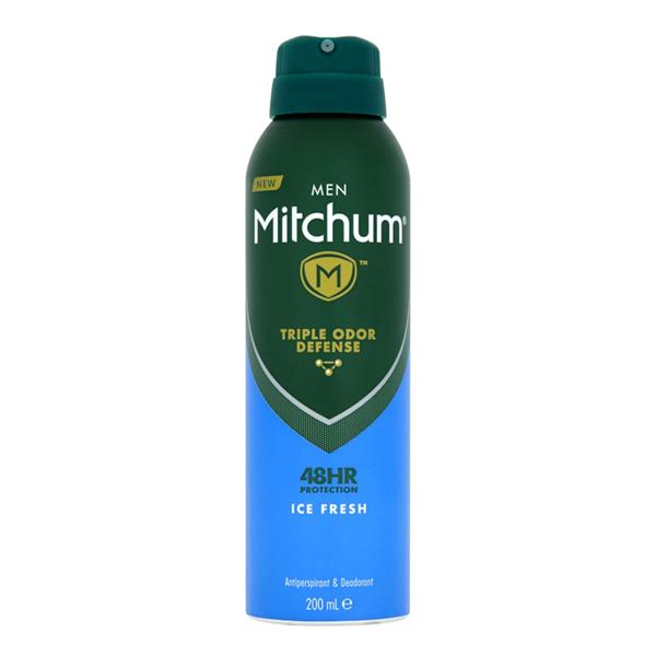 Mitchum Men Ice Fresh 48hr Deodorant 200ml