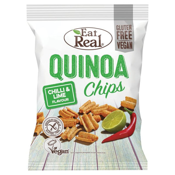 Eat Real Quinoa Chips Chilli & Lime Flavour
