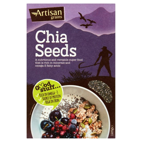 Artisan Grains Chia Seeds 125g - dolanschemist.ie
