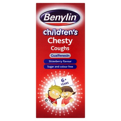 Benylin Children's Chesty Coughs 125ml - dolanschemist.ie