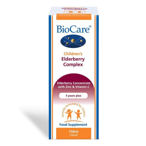 BioCare Children's Elderberry Complex 150ml - dolanschemist.ie