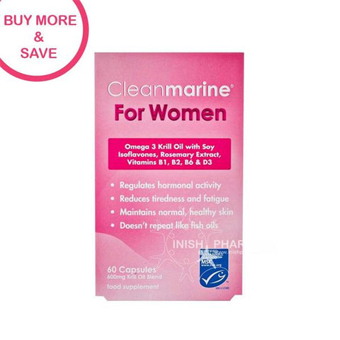 Cleanmarine For Women 60 Capsules - dolanschemist.ie