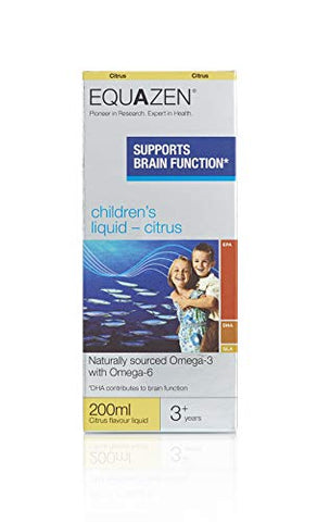 Equazen Children's Liquid - Citrus - dolanschemist.ie