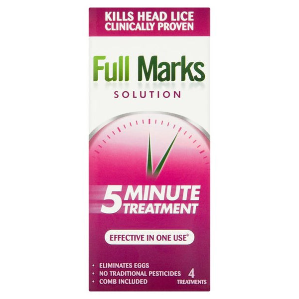 Full Marks Solution 5 Minute Treatment