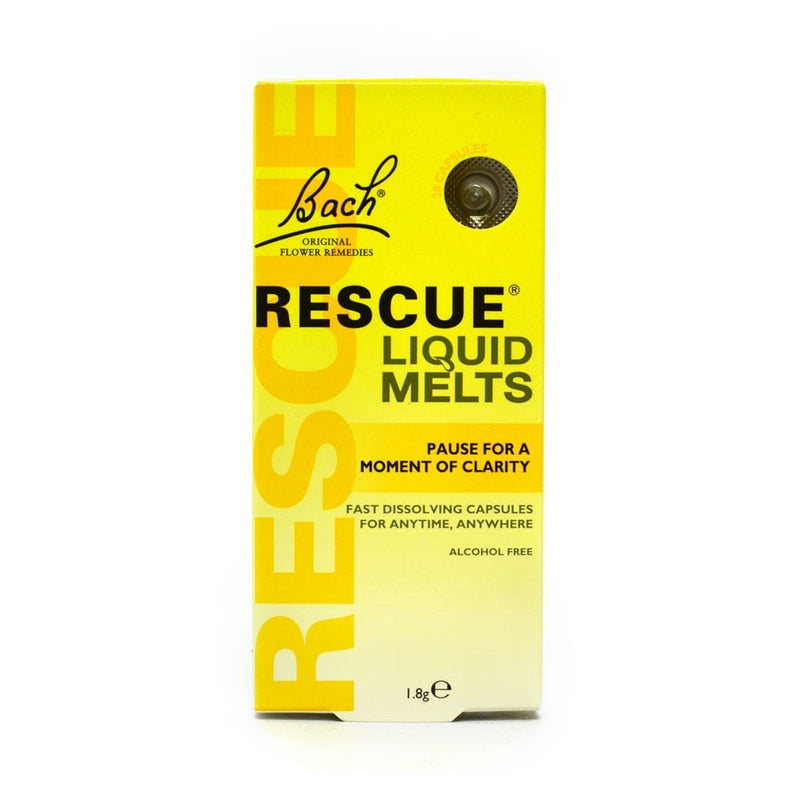 Bach Rescue Liquid Melts 28 Capsules - dolanschemist.ie