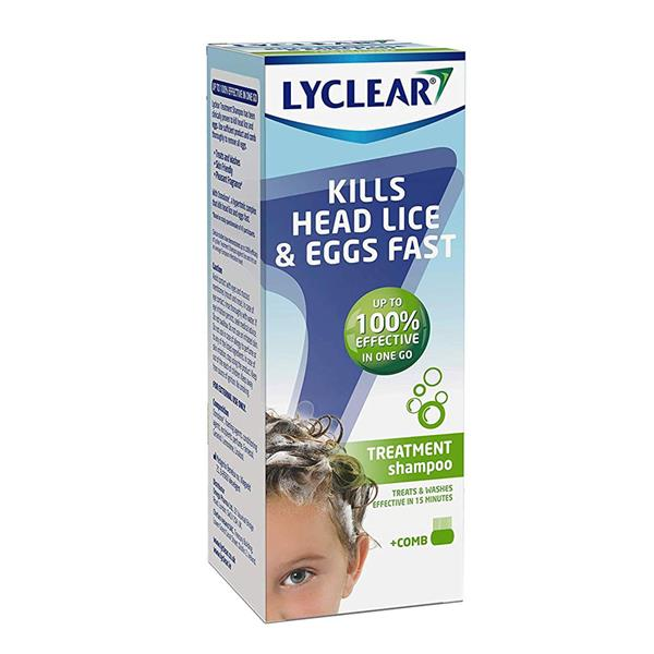 Lyclear Treatment Shampoo 200ml + Comb