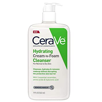 CeraVe  Hydrating Cream-to-Foam Cleanser 236ml