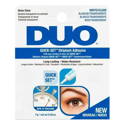 Duo Quickset Striplash Adhesive White/Clear 7g - dolanschemist.ie