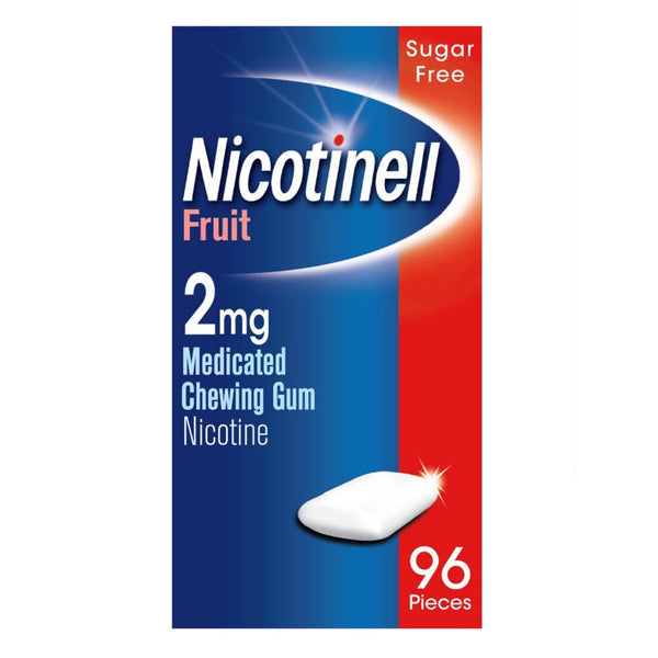 Nicotinell Fruit 2mg Chewing Gum - dolanschemist.ie