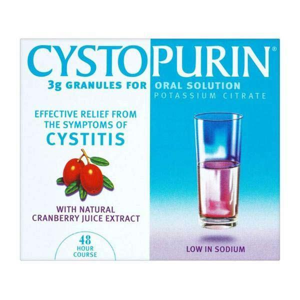 Cystopurin Oral Solution Cranberry 6 Sachets