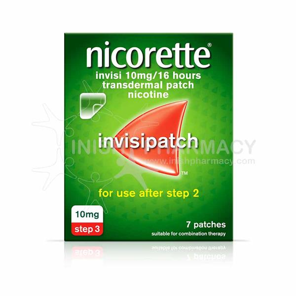 Nicorette Invisipatch Step 3 10mg 7 Pack