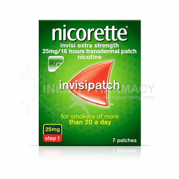Nicorette Invisipatch Step 1 25mg 7 Pack - dolanschemist.ie