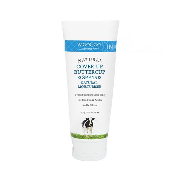 MooGoo Natural Cover-Up Buttercup SPF 15