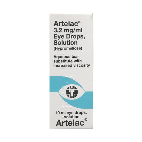 Artelac Eye Drops Solution 10ml - dolanschemist.ie