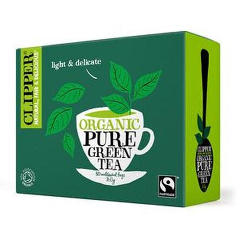 Clipper Organic Pure Green Tea - dolanschemist.ie