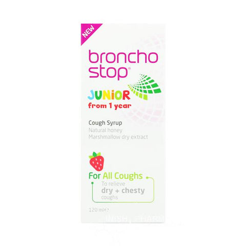 Broncho Stop Junior Cough Syrup - dolanschemist.ie