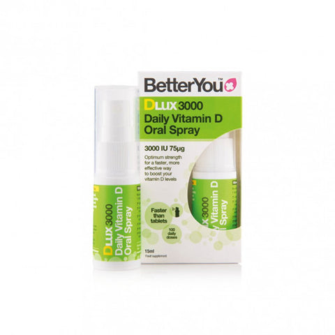 BetterYou Dlux 3000 Vitamin D Daily Oral Spray - dolanschemist.ie