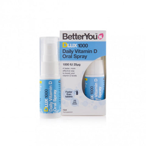BetterYou Dlux 1000 Vitamin D Daily Oral Spray - dolanschemist.ie