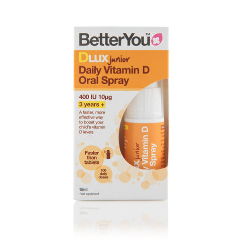 BetterYou Dlux Junior Vitamin D Daily Oral Spray - dolanschemist.ie