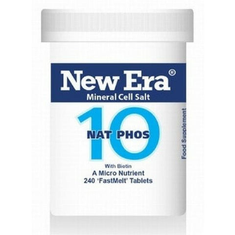 New Era 10 Nat Phos 240 Tablets - dolanschemist.ie