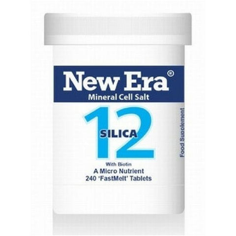 New Era No.12 Silica 240 Tablets - dolanschemist.ie