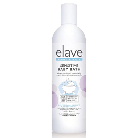 Elave Sensitive Baby Bath - dolanschemist.ie