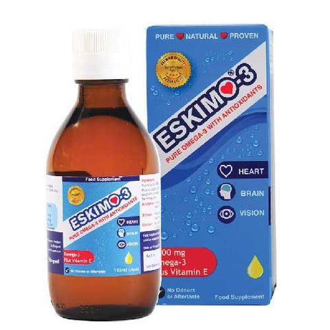 Eskimo-3 Omega-3 with Antioxidants 105ml Liquid - dolanschemist.ie