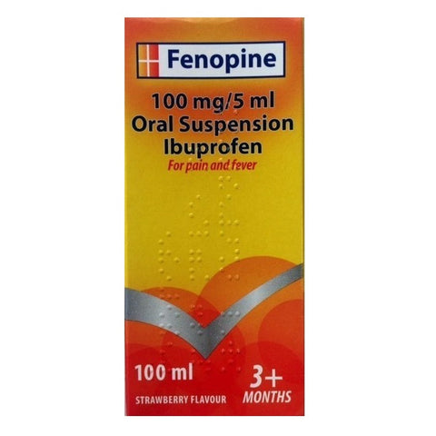 Fenopine Strawberry 150ml 3+Months - dolanschemist.ie