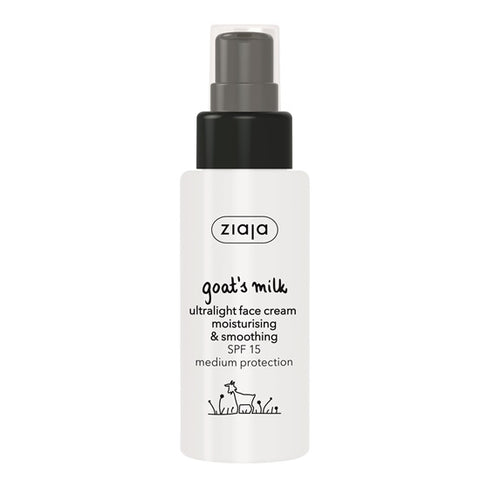 Ziaja Goats Milk Ultralight Face Cream 50ml - dolanschemist.ie