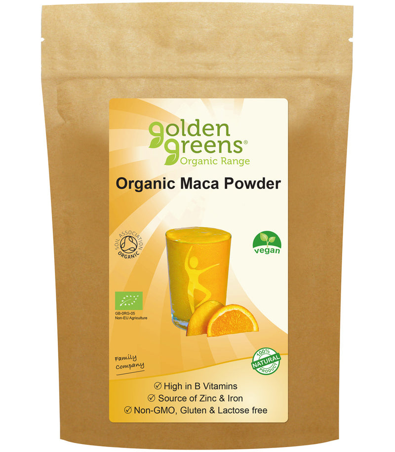 Golden Greens Organic Maca Powder - dolanschemist.ie