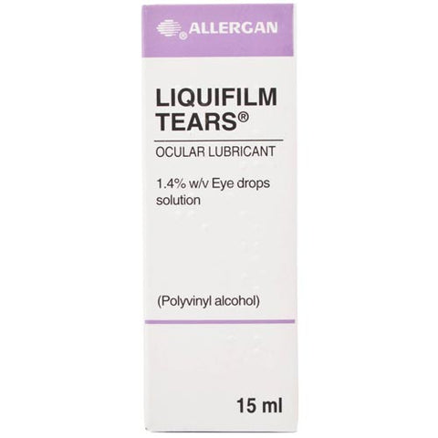 Liquifilm Tears 15ml - dolanschemist.ie