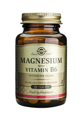 Solgar Magnesium with Vitamin B6 100 Tablets - dolanschemist.ie