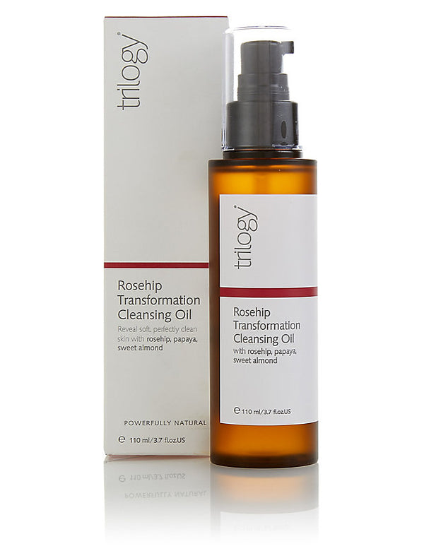 TRILOGY ROSEHIP TRANSFORMATION CLEANSING OIL POWERFULLY NATURAL